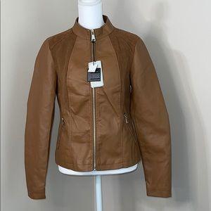 Cavalini Faux Leather Jacket